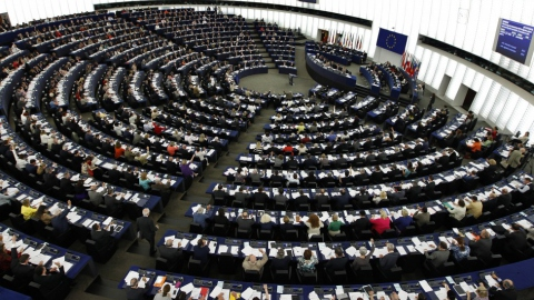 The European Parliament in Strasbourg, France
